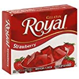 Royal Gelatin, Strawberry 1.4oz 4-pack