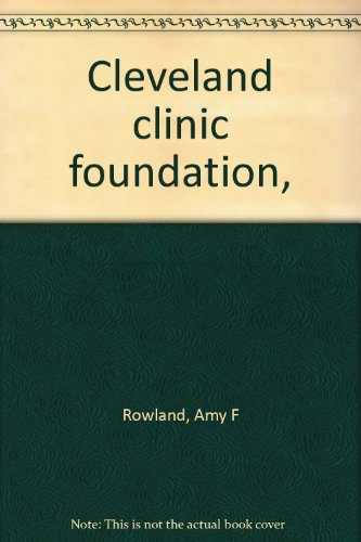 Cleveland clinic foundation,