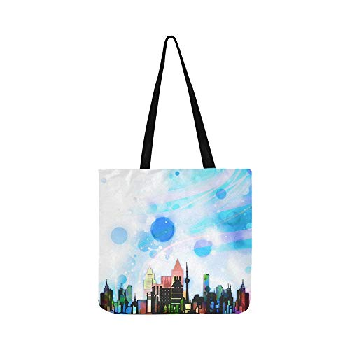 Architecture City House Window Collage Scene 1052706 Canvas Tote Handbag Shoulder Bag Crossbody Bags Purses For Men And Women Shopping Tote