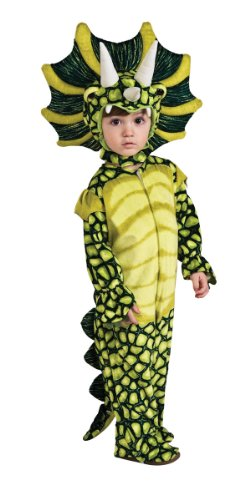 Silly Safari Costume, Triceratops (Dinosaur Toddler Halloween Costumes)