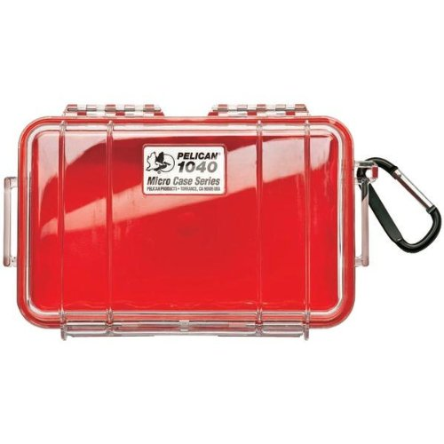 PELICAN 1040025170 1040 Micro Case (Red)-by-PELICAN