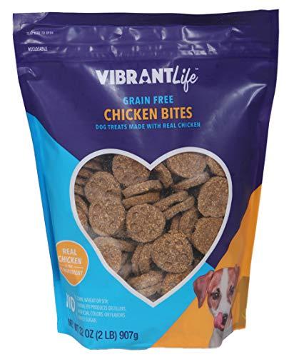 Cheap Vibrant Life Grain Free Chicken Bites Dog Treats, 32 oz