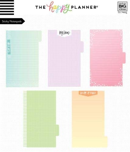 Small Me /& My Big Ideas HP Sticky Notes Tabs Pastel