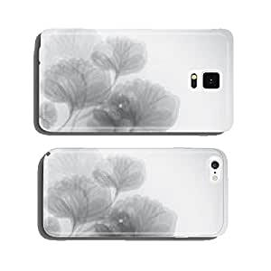 My condolences / Black-and-white funeral card with flowers cell phone cover case iPhone6 Plus