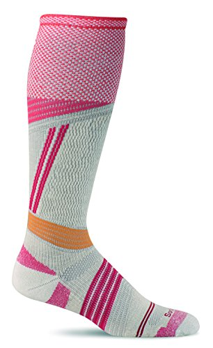 - Sockwell Women's Alpine Cushioned Ski Graduated Compression Socks, Natural, Medium/Large