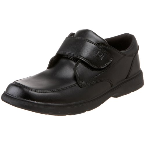 Sperry Top-Sider Miles Dress Shoe (Toddler/Little Kid/Big Kid),Black,5 W US Big Kid by Sperry (Image #1)