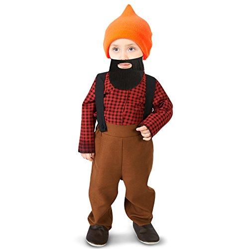 Bearded Baby Costume (Bearded Baby Lumberjack Infant Costume 12-18M)
