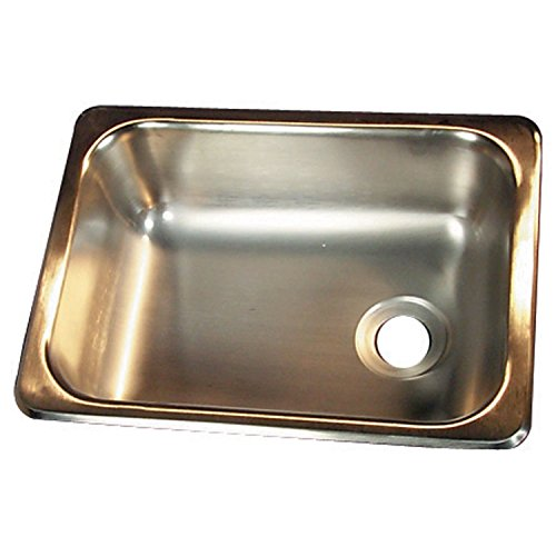 Heng's SSS-1315-5-22 Stainless Steel Single Sink (Camper Van Sink)