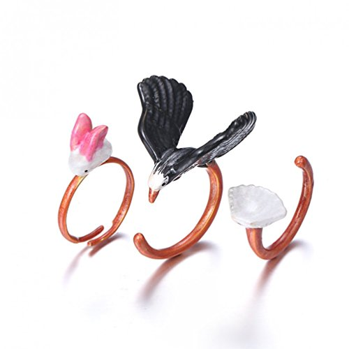Rinhoo Stack Rings Squirrel Knuckle product image