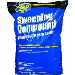ZEP HDSWEEP50 Floor Sweeping Compound, 50 lb