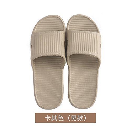 YMFIE Calzado Zapatillas Anti Pareja Zapatillas Outdoors Home Verano Khaki de Cool Antideslizante HHqRn4r8