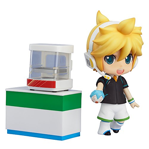 Good Smile Vocaloid: Kagamine Len Nendoroid Action Figure FamilyMart 2013 (Vocaloid Rin Y Len Halloween)