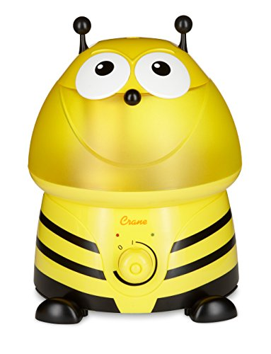 Crane USA Cool Mist Humidifiers for Kids, Bumble Bee
