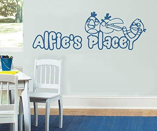Best Design Amazing Decals Angry Birds with Name Wall Sticker Made in USA