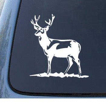 DEER - Hunter Hunting Buck - Car, Truck, Notebook, Vinyl Decal Sticker #1175 | Vinyl Color: - Deer Trucks Decals