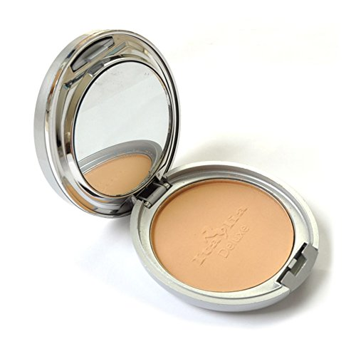 Italia Maku Up Foundation Face Two Way Mineral Powder Natural Tan Oil Free Spf 8 (Two Way Foundation)