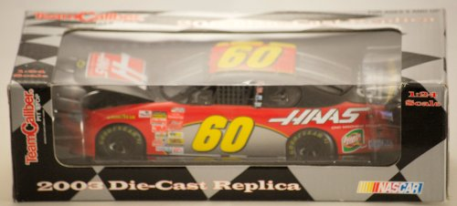 Nascar 2003 - Team Caliber Pit Stop Brian Vickers #60 - Chevrolet Monte Carlo - HAAS/GMAC - 1:24 Scale Diecast Metal - Limited Edition - Collectible