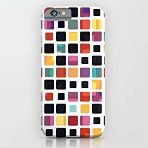 Colorful Mosaic Tiling For SamSung Note 2 Case Cover Case by Phil Perkins