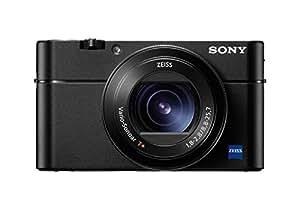 Sony DSC-RX100 V- Cámara compacta (20.1 MP, AF Híbrido de 0.05s, Vídeo 4K, Sensor CMO, 960FPS, Lente Zeiss), Color Negro