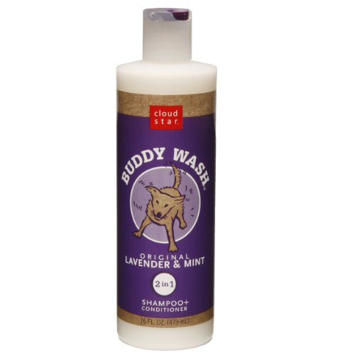 Cloud Star Buddy Wash Dog Shampoo + Conditioner – Lavender and Mint, 16-Ounce Bottles (Pack of 2), My Pet Supplies