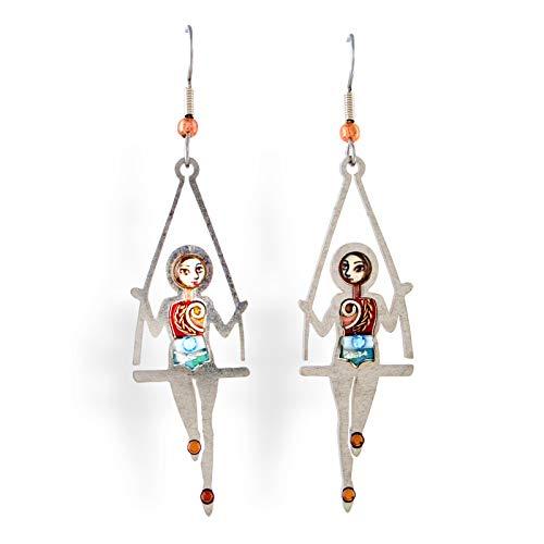 Seeka At the Circus Trapeze Earrings - E0218