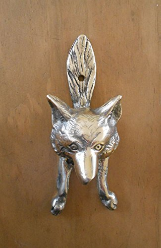Ordinaire Small Fox Brass Door Knocker