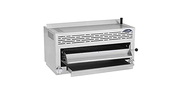Amazon.com: CookRite ATSB-36 Commercial Cheese Melter Salamander Broiler Oven Infrared Raclette Grill Countertop Natural Gas 36