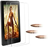 ArtSet All New HD 8 Tablet (7th Generation / 2017 Released) Tempered Glass Screen Protector,[Anti-Scratch] [State Of The Art] and [Lifetime Replacement Warranty Service]