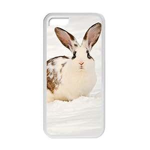 XiFu*MeiCute Rabbits In Snow Field Phone Case for ipod touch 5XiFu*Mei