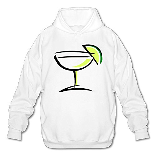 Maanshan Margarita Mens Workout Training Pullover Hoodies Sweatshirts Size M (Tequila Rose Margarita)
