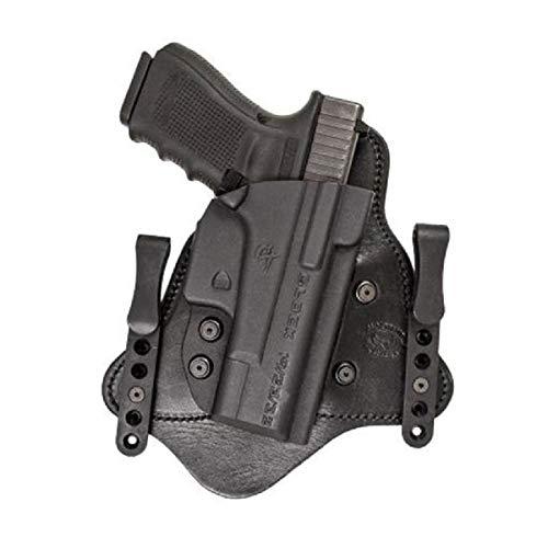 (Comp-Tac MTAC IWB Hybrid Holster,Glock 9/40/357 Slide,Standard Clips,Black,Right Side 739189103959)