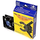 Vantec Stealth SF6025L 60x60x25mm Double Ball Bearing Silent Case Fan (Black)