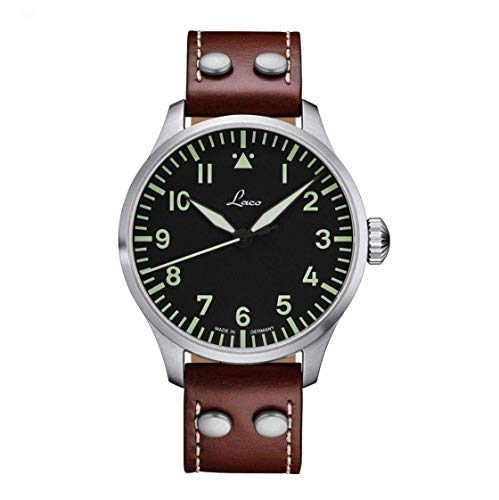 Laco Augsburg Type A Dial German Automatic Pilot Watch 861688 ()
