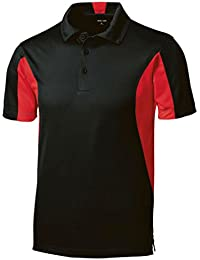 Men's Moisture Wicking Side Blocked Micropique Polo's- Regular, Big & Tall Sizes