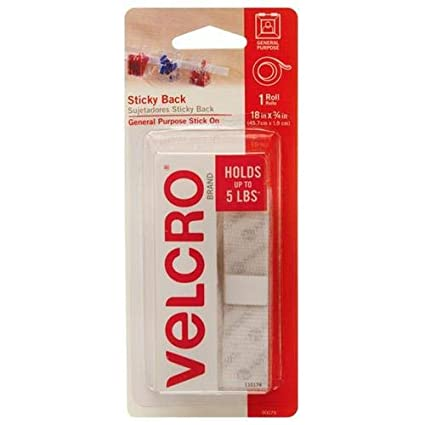 5a95a7c225172 Amazon.com: VELCRO Brand - Sticky Back Hook and Loop Fasteners ...