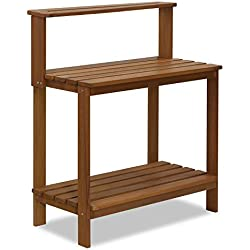 Furinno FG17478 Tioman Outdoor Hardwood Potting Bench