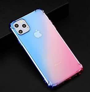 Cover iPhone 11 Pro Silicone Gradient Color Transparent