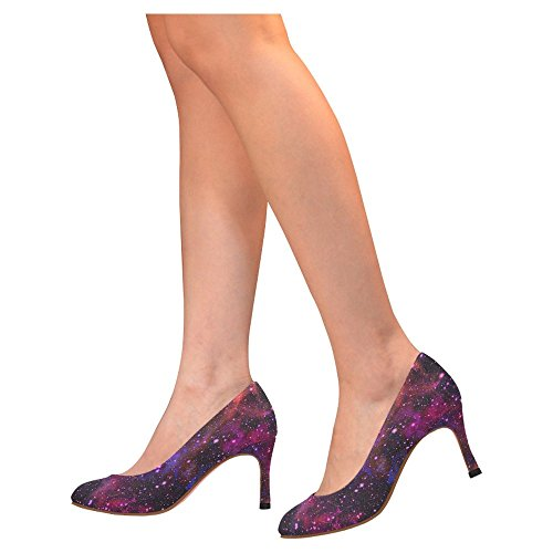 InterestPrint Womens Classic Fashion High Heel Dress Pump Shoes Multi 4 ylUKsqd