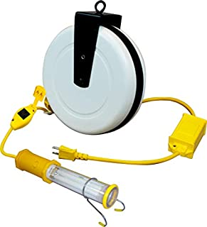 product image for Saf-T-Lite 3613-4001 Stubby II Work Light with Switch, Ballast, & in-Line Tool Tap, 40ft Reel