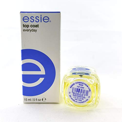 - Essie Nail Treatment Top Coat Everyday .5oz/15ml