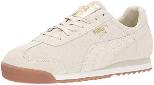(PUMA Men's Roma Natural Warmth Sneaker, Birch-Whisper White, 13 M US)