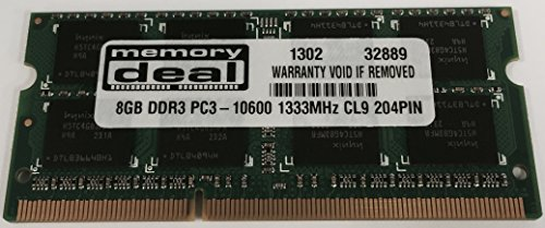 Dataram 8GB DDR3 MEMORY MODULE FOR Asus X75A TY127H
