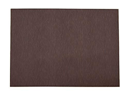 Wintop Skinny Rib Weave Faux Leather Placemat, 13