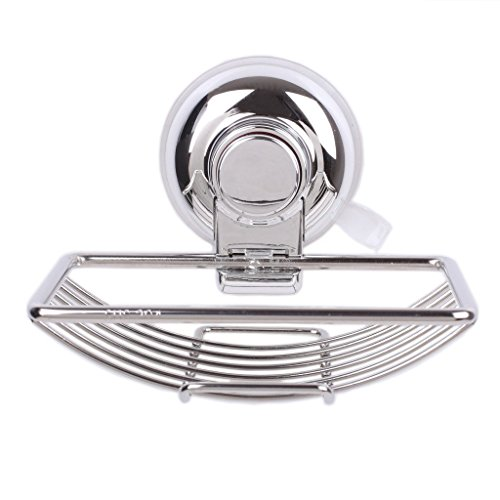 VonHome Suction Cup Soap Holder Vacuum Stainless Steel Kitchen Toilet Soap Dishes