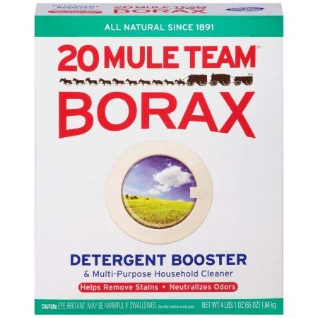 20 Mule Team Borax Detergent Booster & Multi-Purpose Household Cleaner 65 oz. Box - 1 Pack