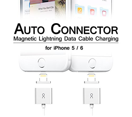 autoconnector magnetic lightning charging data cable