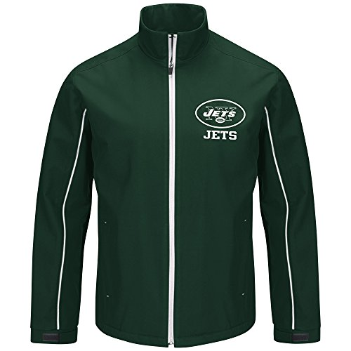 G-III Sports by Carl Banks Varsity Soft Shell Full Zip Jacket, Xx-Large, Green