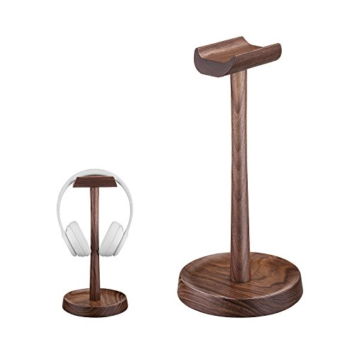 Wooden Headphone Stand Headset Holder Hanger AhfuLife Stand