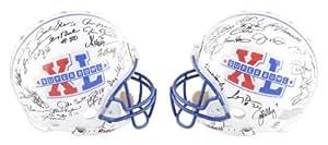 Super Bowl MVP Autographed Pro-Line Helmet - 39 Signatures, Authentic Riddell Helmet - Mounted Memories Certified