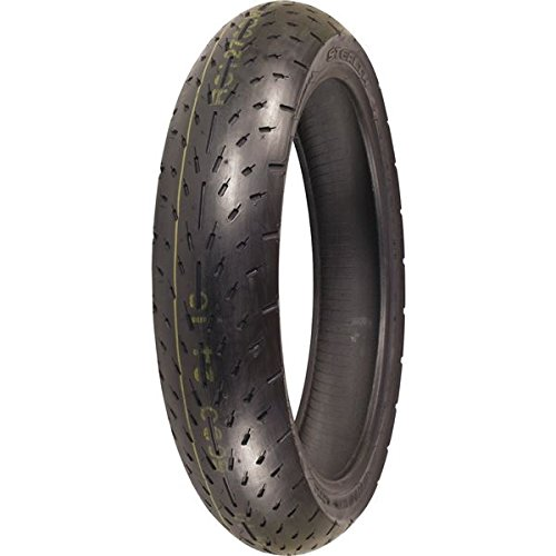 Racing Slick Belted Tire - Shinko 003 Stealth Radial Sport Bike Motorcycle Tire - 120/70ZR17 / Front